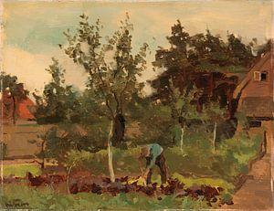 Gemüsegarten, Willem Witsen