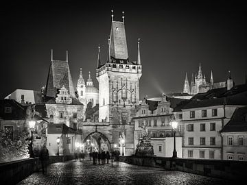 Prag bei Nacht von Alexander Voss