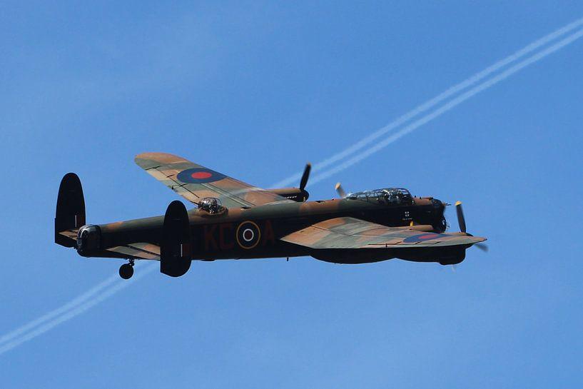 Lancaster-bommenwerper  van Jeroen Koppes