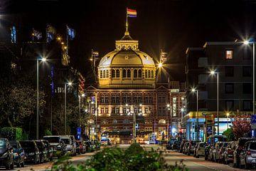 Kurhaus Scheveningen bij nacht van Retinas Fotografie