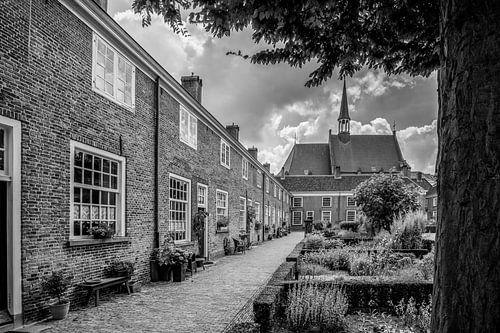 Breda - Begijnhof - Zwart Wit