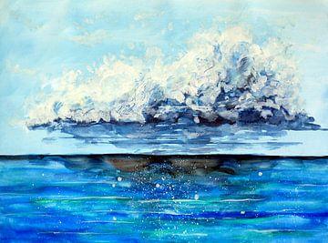 Der Ozean vor dem Sturm von ZeichenbloQ