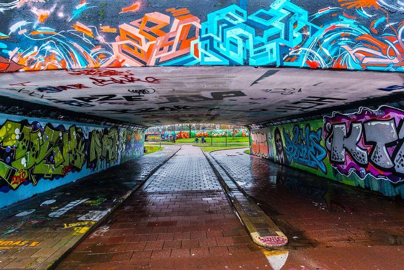 Graffiti,Streetart van Brian Morgan