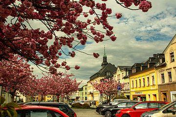 Landschaft im Erzgebirge Ehenfriedersdorf von Johnny Flash