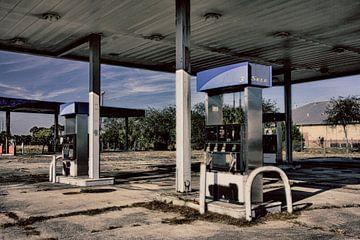 Verlassene Tankstelle von Yvonne Smits
