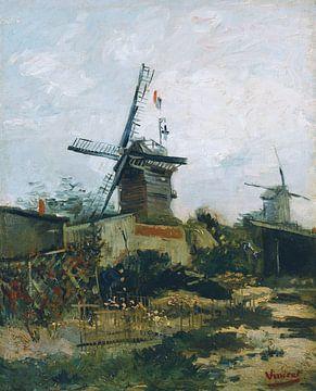 Vincent van Gogh. Mühlen auf Montmartre
