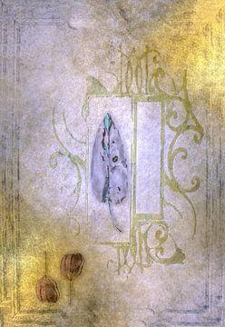 Een lila blad van Annette Hanl