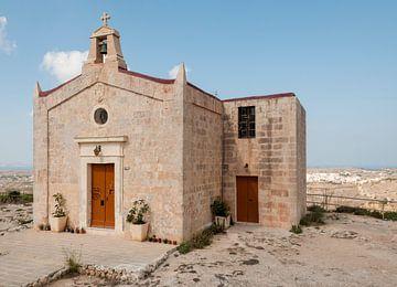 kerkje op het eiland gozo von Compuinfoto .
