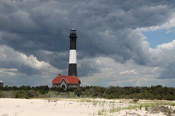 Fire Island Light Long Island - Leuchtturm auf Fire Island sur Christiane Schulze