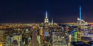 New York Skyline - View from the Top of the Rock 2016 (1)