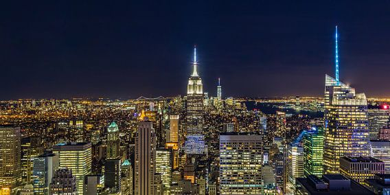 New York Skyline - View from the Top of the Rock 2016 (1) van Tux Photography