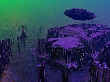 Extraterrestial City Colonisation von Hannah Moesker