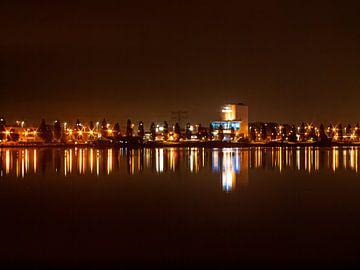 Haarrijnse See  bei Nacht von Martijn Wit