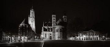 Maastricht - Vrijthof - Sint Servaas Basiliek - Sint Janskerk- Hoofdwacht