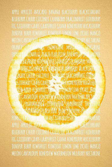 Fruities in kleur Sinaasappel