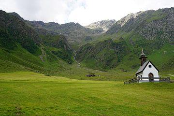 Landschaft in Osttirol, Pustertal, Österreich von Kelly Alblas