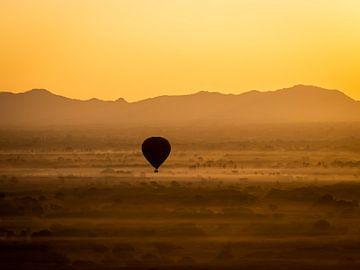 Ballon Silhouet van Rik Pijnenburg