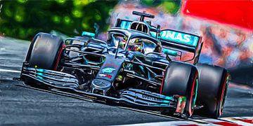 Lewis Hamilton - 2019 van Jean-Louis Glineur alias DeVerviers