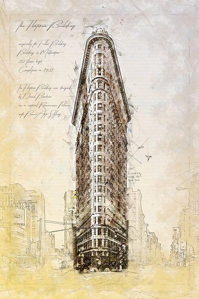 Flat Iron Building, New York von Theodor Decker