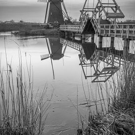 Molen werelderfgoed Kinderdijk van Mark den Boer