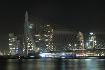 Skyline Kop van Zuid Rotterdam  van Jordi Woerts