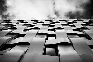 gevlochten gebouw van Tim Meijer