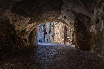 Historische Pieve in Tremosine sul Garda Italien von Jefra Creations