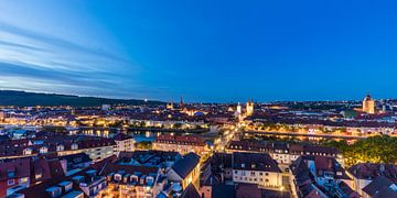 Würzburg in Franken von Werner Dieterich