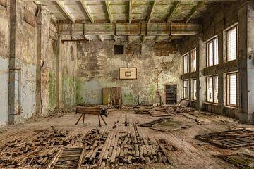 Verlassene Turnhalle Tschernobyl von John Noppen