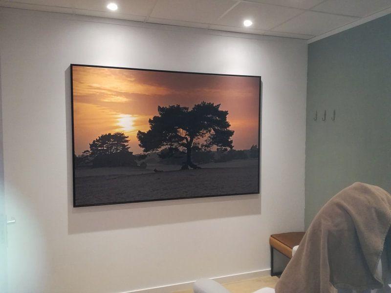 Klantfoto: Zonsondergang zandverstuivings gebied Soesterduinen van Anton de Zeeuw