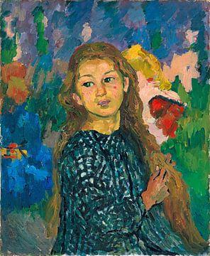 Porträt von Ottilia Giacometti, Giovanni Giacometti
