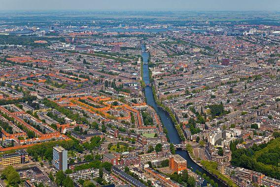 Luchtfoto Amsterdam-West