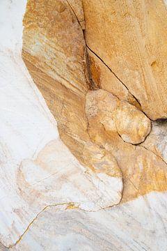 Marmer uit de marmergroeve bij het Baikalmeer sur Michèle Huge