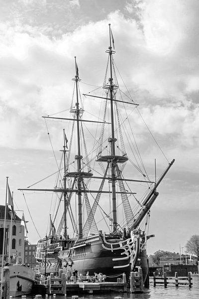 VOC-schip Amsterdam van Jan van der Knaap