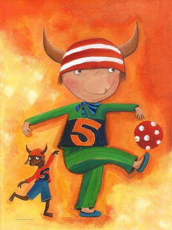 Viking - Schilderij voor Kinderen