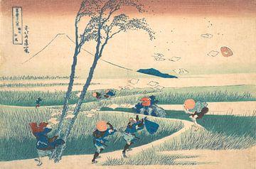 Ejiri in der Provinz Suruga, Katsushika Hokusai
