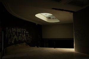 Een verlaten theater