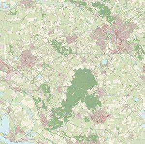 Kaart vanMontferland