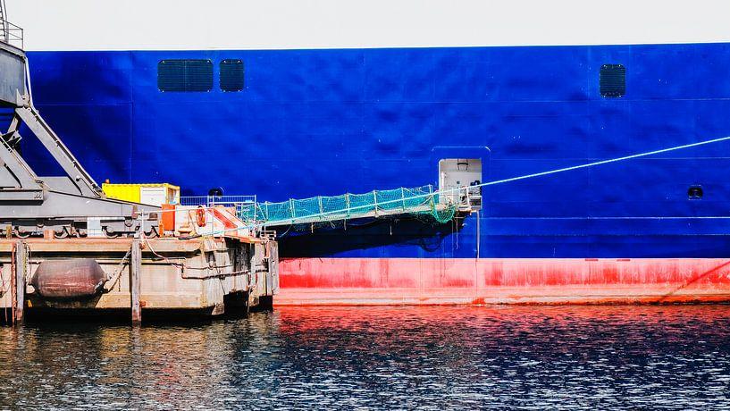 Schiffswand in der Werft von Heiko Westphalen