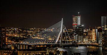 Rotterdam Erasmusbrug von John Ouwens