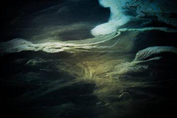 mos in het water van Marieke Bakker