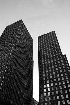 Architectuur op de Zuidas in Amsterdam sur Xandra Ribbers