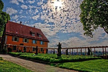 Jardin du château de Rothenburg ob der Tauber sur Roith Fotografie