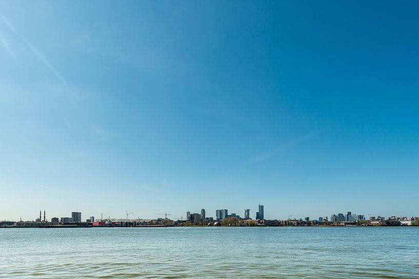 Skyline Rotterdam van Brian Morgan