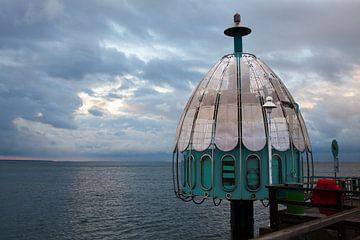 Ostsee - Tauchglocke auf der Seebrücke Zinnowitz (Insel Usedom) von t.ART