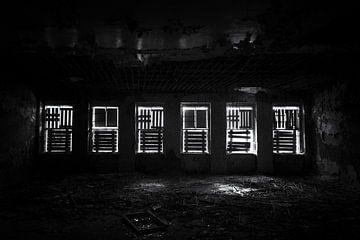 Urbex verließ die russische Kaserne mit Filmkorn. von Ger Beekes