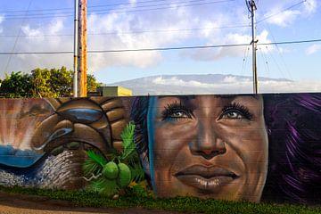 Graffiti kunst van Sylvia de Strandjutter