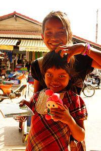 Cambodja Siem Reap van Pieter  Debie