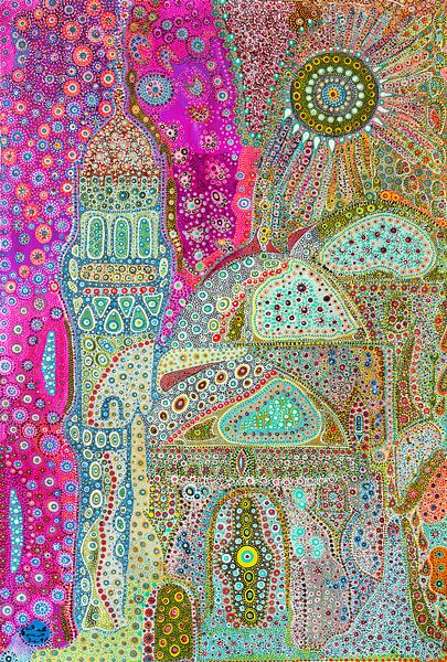 Fairytale Mosque van Mohamed Hamida