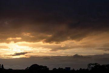 Zonsondergang van Lonneke Prins